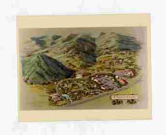An artist's conceptual drawing for the Pinebrook development outside Park City, Utah.