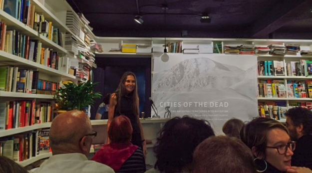 "On November 12, St. Mark's Bookshop hosted Margaret Morton for the launch of her new book, ""Cities of the Dead: Ancestral Cemeteries of Kyrgyzstan."""