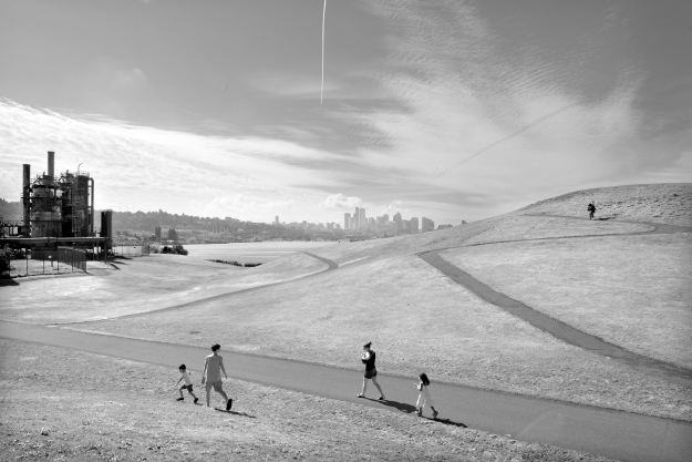 Gas Works Park, Seattle, 2014.