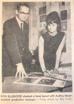 Don Ellegood and Audrey Meyer