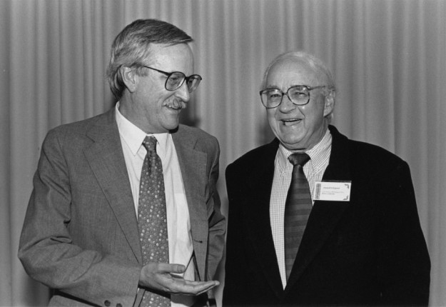 Paul Soden at Don Ellegood's 1996 retirement