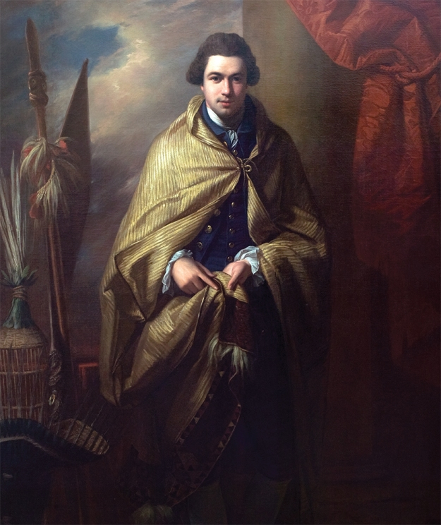 Joseph Banks. Benjamin West RA, 1771–72. Oil on canvas.