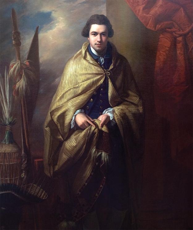 Joseph Banks. Benjamin West RA, 1771–72. Oil on canvas.