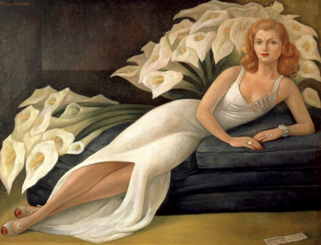 Diego Rivera Portrait of Natasha Gelman 1943 oil on canvas 115 x 153 cm The Jacques and Natasha Gelman Collection of Mexican Art © 2016 Banco de Mexico Diego Rivera Frida Kahlo Museums Trust, Mexico DF ***This image may only be used in conjunction with editorial coverage of Frida Kahlo and Diego Rivera: from the Jacques and Natasha Gelman Collection 25 Jun-9 Oct 2016, at the Art Gallery of New South Wales. This image may not be cropped or overwritten. Prior approval in writing required for use as a cover. Caption details must accompany reproduction of the image. *** Media contact: Hannah.McKissock-Davis@ag.nsw.go.au *** Local Caption *** ***This image may only be used in conjunction with editorial coverage of Frida Kahlo and Diego Rivera: from the Jacques and Natasha Gelman Collection 25 Jun-9 Oct 2016, at the Art Gallery of New South Wales. This image may not be cropped or overwritten. Prior approval in writing required for use as a cover. Caption details must accompany reproduction of the image. *** Media contact: Hannah.McKissock-Davis@ag.nsw.go.au